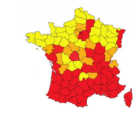 carte du moustique tigre en France